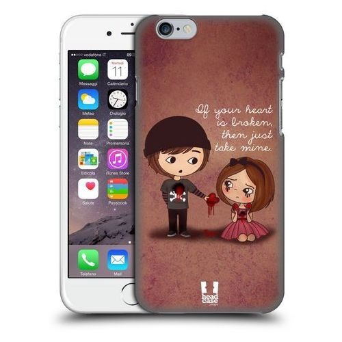 Head case Etui plastikowe na telefon - cute emo love give you my heart