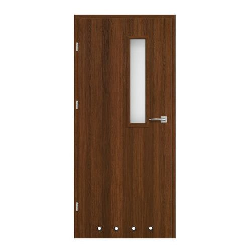Drzwi z tulejami Exmoor 80 lewe orzech north