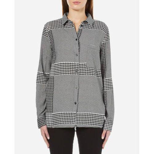 Cheap Monday Women's Try Prince Check Shirt - Off White - L/UK 12 - produkt z kategorii- Pozostałe