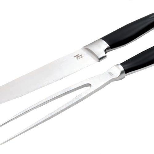 Jamie oliver - carving set - komplet nóż + widelec do mięs