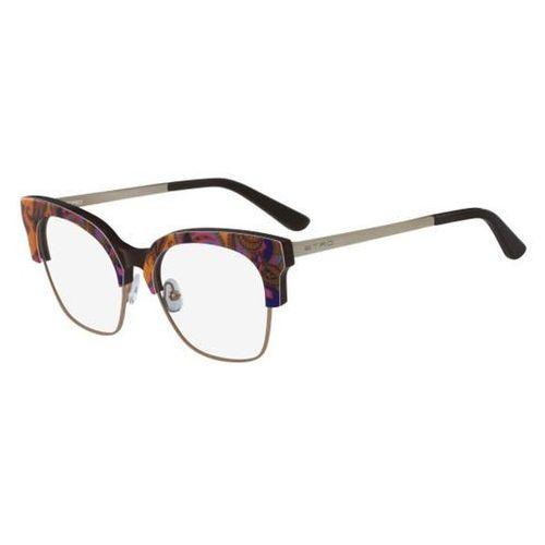 Etro Okulary korekcyjne et 2113 800