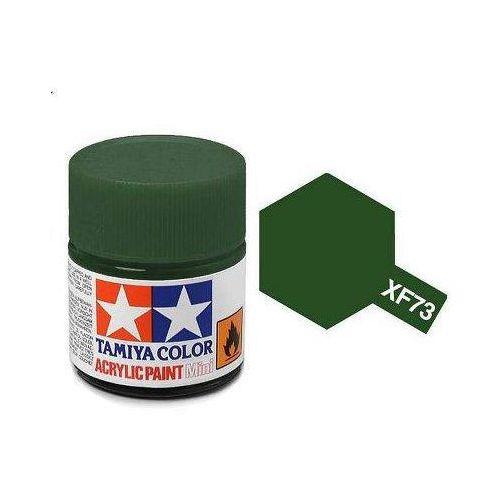 Farba akrylowa - xf74 olive drab matt / 10ml 81774 marki Tamiya