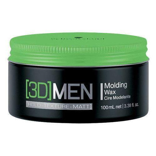Schwarzkopf Professional [3D] MEN modelujący wosk do włosów (Molding Wax) 100 ml