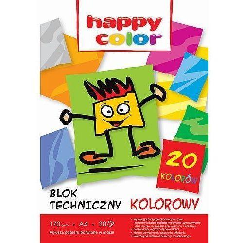 Blok techniczny kolor A4/20K HAPPY COLOR (5905130107009)