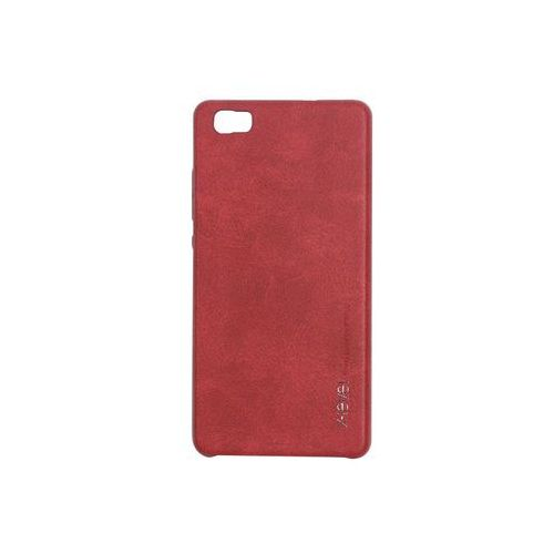 Huawei p8 lite - etui na telefon vintage - red wine marki X-level