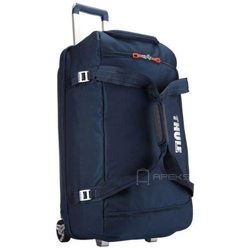 crossover rolling duffel 87l torba podróżna na kółkach / granatowa - dark blue marki Thule