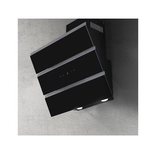 Okap naścienny Aero Czarny 80 cm, 635 m3/h