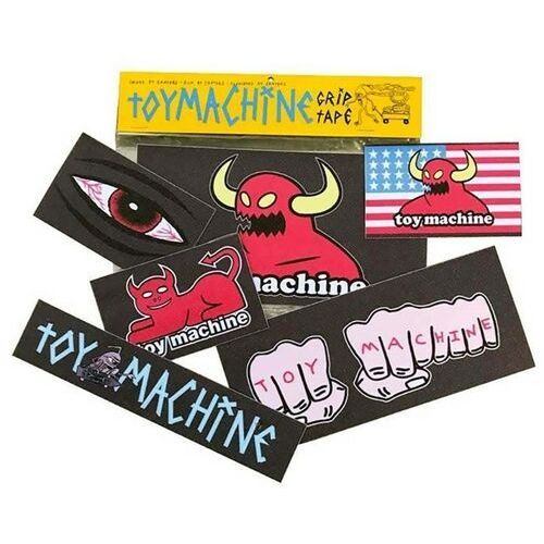 grip TOY MACHINE - Gripsticker Pack (MULTI) rozmiar: OS