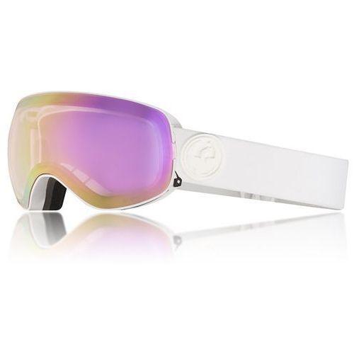 gogle snowboardowe DRAGON - X2S 2 Whiteout/pinkion+Dksmk (195) rozmiar: OS