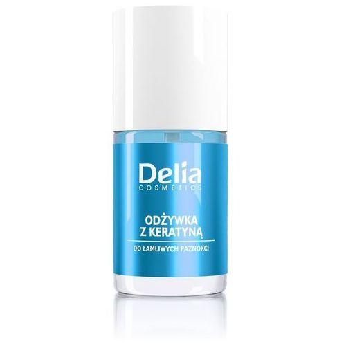 Delia Cosmetics Odżywka do paznokci z keratyną 11ml - DELIA, 5901350441329