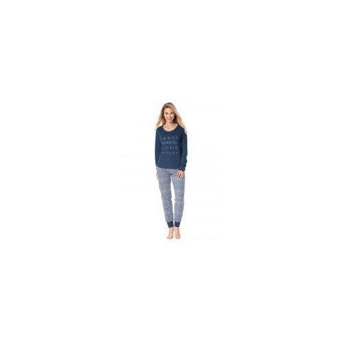 Bawełniana piżama damska Rossli SAL-PY-1076, SAL-PY-1076