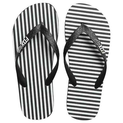 japonki FOX - Jail Break Flip Flop Black/White (018) rozmiar: M