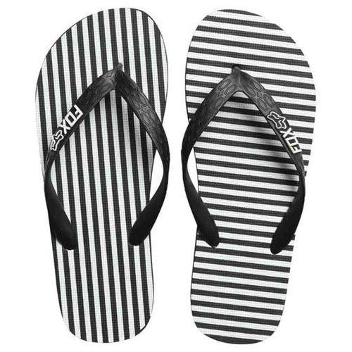 Japonki - jail break flip flop black/white (018) rozmiar: m marki Fox