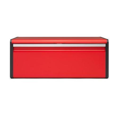 Brabantia - chlebak prostokątny czerwony (8710755484025)
