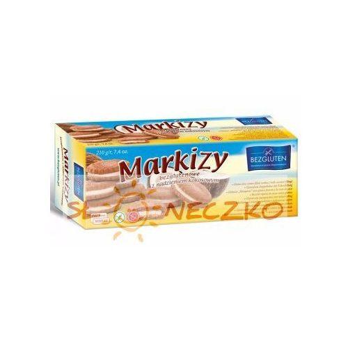 Bezgluten Markizy z nadzieniem kokosowym. produkt owy 210g bezgluten (5907459846164)