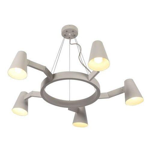 lampa wisząca biarritz/h5/w 5-ramienna biała biarritz/h5/w marki It's about romi