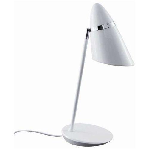 Orlicki design Stojąca lampka biurkowa elmo tavolo bianco stołowa lampa nocna do sypialni biała (1000000471021)