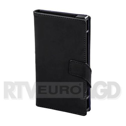 Etui HAMA Booklet Move S1 4-4.5 cala Czarny (Futerał telefoniczny)
