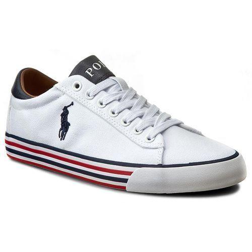 Tenisówki POLO RALPH LAUREN - Harvey A85 Y0296 C0225 W1433 Pure White/Newp 816190758EAD, kolor biały