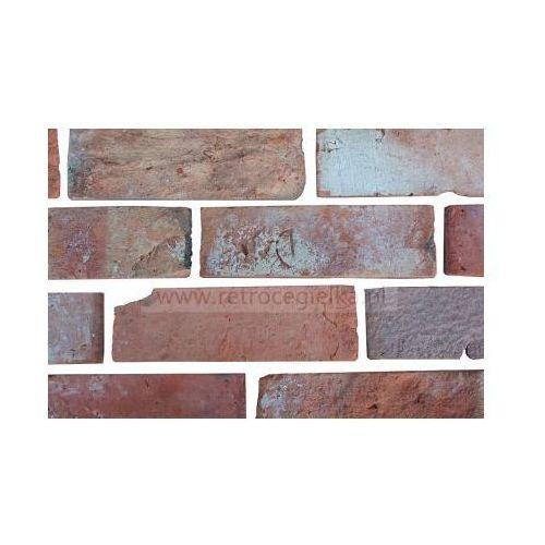 Retrocegiełka Płytki z cegły rozbiórkowej - lica gotyckie alejki wilanowa