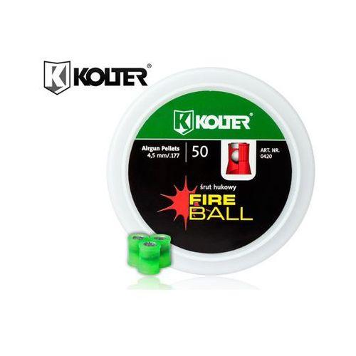Śrut hukowy 4,5mm Fireball pirotechniczny 50szt Kolter