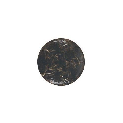 Be Pure Talerz metalowy Accent czarny L 800783-Z