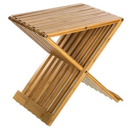 Bambou Bambusowy taboret , składany