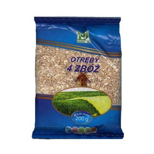 Otręby 4 zbóż 200g z kategorii Płatki, musli i otręby
