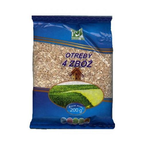 Radix-bis Otręby 4 zbóż 200g
