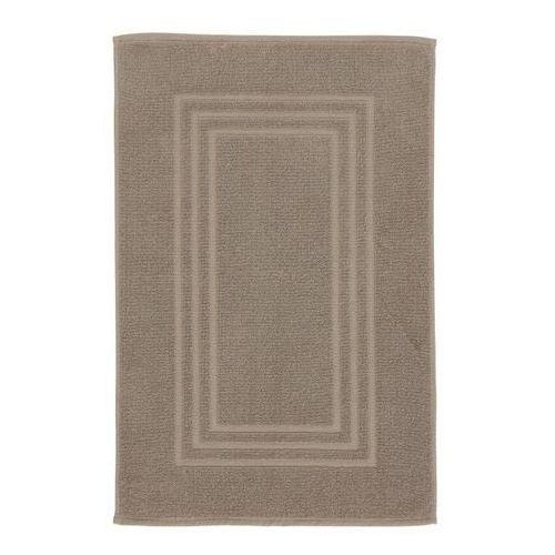 Dywanik łazienkowy palmi bawełniany 50 x 80 cm taupe marki Cooke&lewis