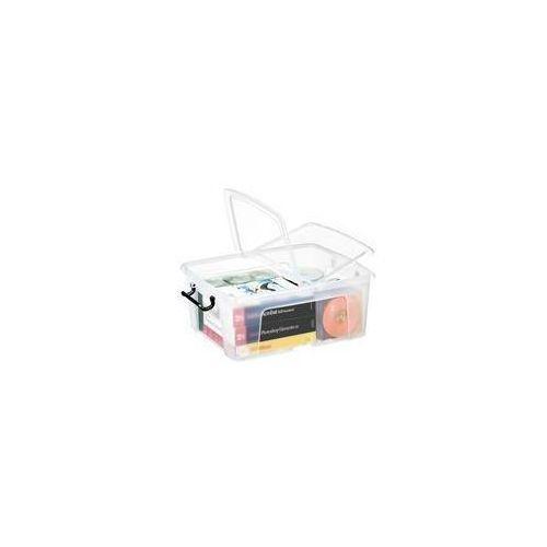 Pojemnik biurowy smartbox, 24l, transparentny marki Cep