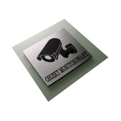 Obiekt Monitorowany - Tabliczka Piktogram Dibond - OKAZJE