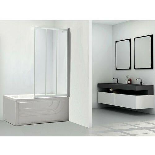 Parawan nawannowy DOLANE - 80x140 cm - Biały
