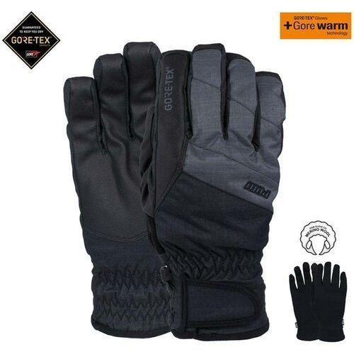 rękawice POW - Warner Gtx Short Glove Charcoal (CH) rozmiar: M