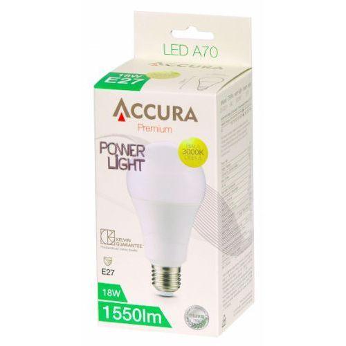 Accura PowerLight bulb E27 18W