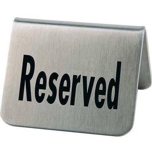Tabliczka 'Reserved' | Zestaw 2 szt.