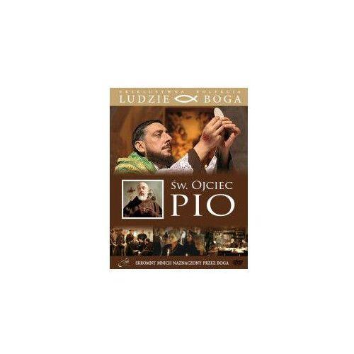 Praca zbiorowa Św. ojciec pio + film dvd