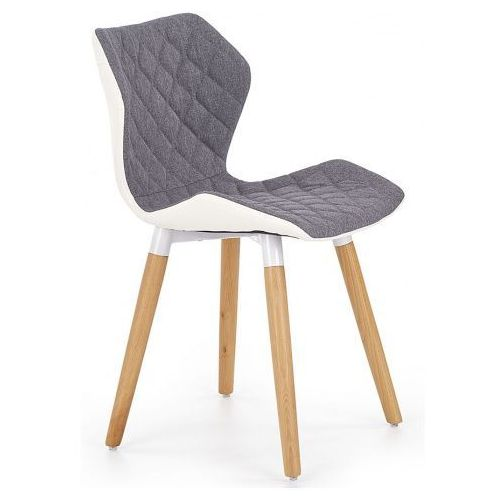 Krzesło tapicerowane Kilmer - popielate, V-CH-K/277-KR-POPIEL