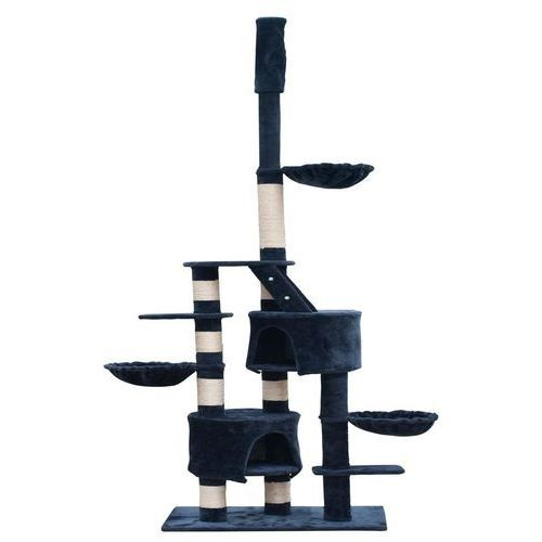 Vidaxl  drapak dla kota xl (230-260 cm) plusz, niebieski/ grafit (8718475865247)