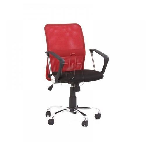 Halmar Fotel pracowniczy tony czerwony - gwarancja bezpiecznych zakupów - wysyłka 24h (2010000177303)