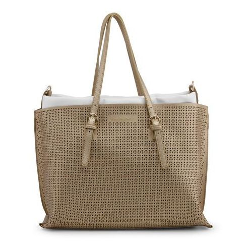 Torebka shopper damska BLU BYBLOS - EASYPERFORATED_680210-40