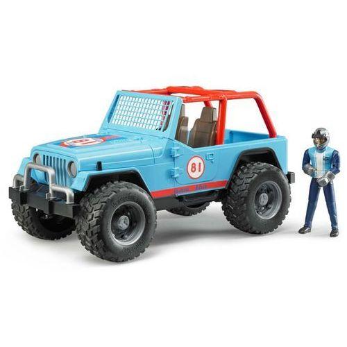 Bruder samochód terenowy z kierowcą jeep cross country, 1:16, 02541 (4001702025410)