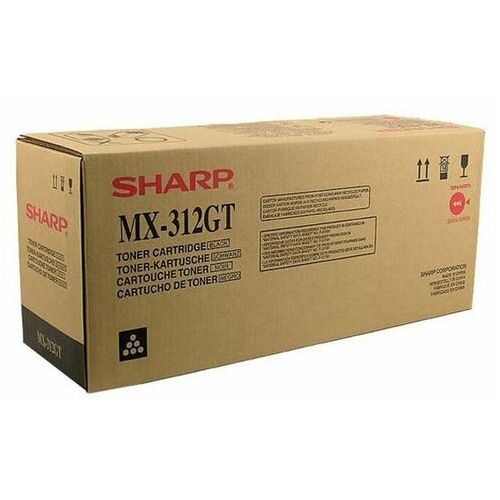 Sharp oryginalny toner mx-312gt, black, 25000s, sharp mx-m260, m260n, m310, m310n