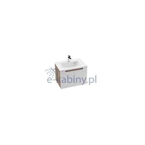 Ravak Szafka podumywalkowa SDD Classic 80 cm cappuccino/biała połysk X000001096 (8592626035938)