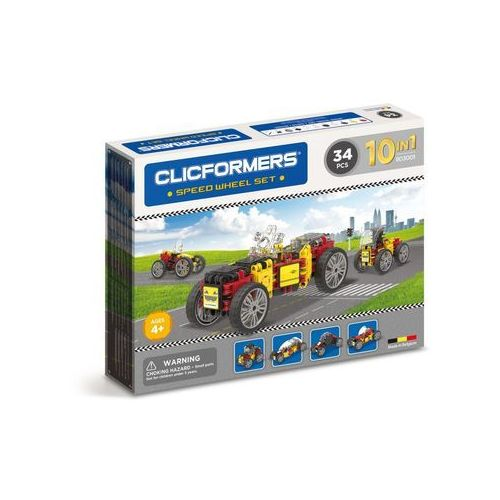CLICSFORMERS - Pojazdy 34 el.