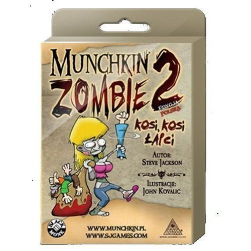 Black monk Munchkin zombie 2 kosi, kosi łapci