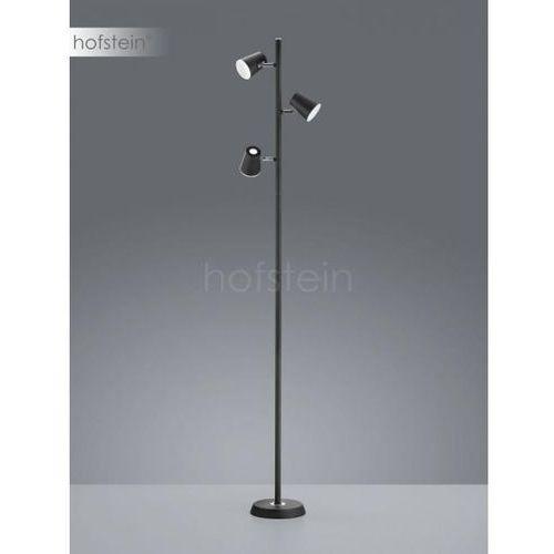 Trio Narcos 473190332 lampa stojąca podłogowa 3x4,7W LED czarna/biała