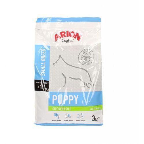 original puppy small breed chicken & rice 3kg - 3000 marki Arion