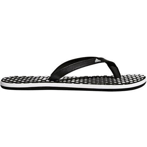 Klapki adidas – japonki Eezay Dots B23738, kolor biały