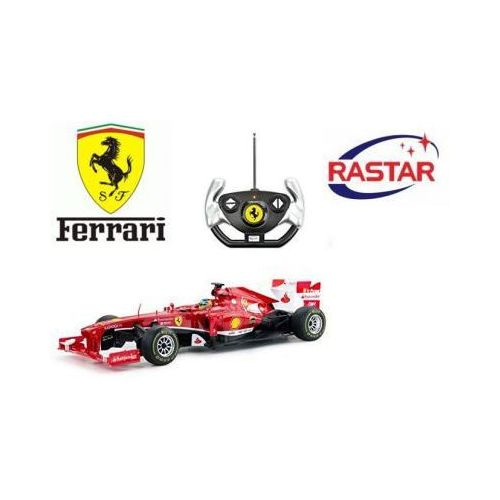 Duży Licencjonowany Zdalnie Sterowany Bolid Ferrari F1 (1:12) + Bezprzewodowy Pilot.
